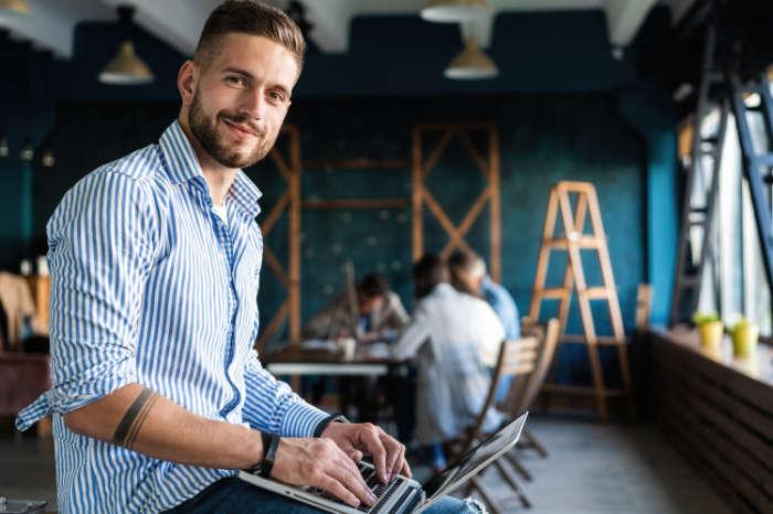 Unternehmer ist in der Insolvenz in Eigenverwaltung